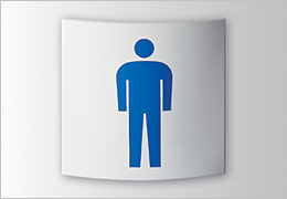 RB レインボー正面型 室名札・サインの商品情報