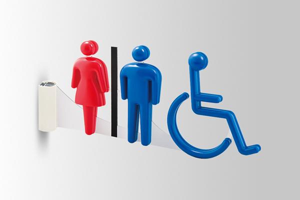 3Dピクト 側面型の製品情報 室名札/サインの商品画像