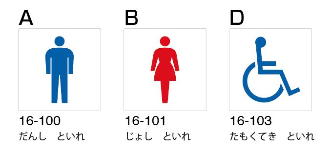 点字ピクトサイン参考画像